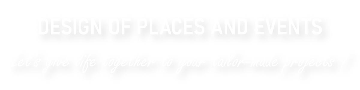 Créatrice d'espaces et d'évènements